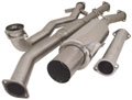 Turbo XS Turboback Exhaust System (with factory catpipe) For Mitsubishi Lancer EVO VIII