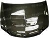 Seibon TSII Carbon Fiber Hood : Lancer EVO 8
