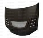Seibon CW-Style Carbon Fiber Hood For EVO 8