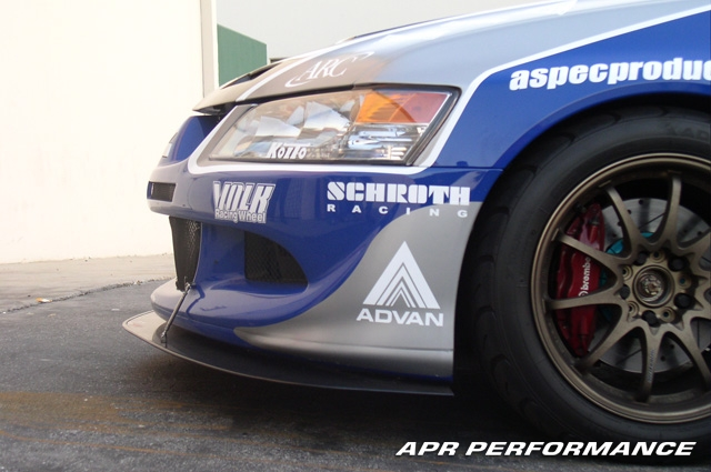 APR Carbon Wind Splitter for EVO VIII & IX