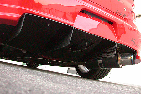 APR Rear Diffuser For Wide Body Kit For EVO 8