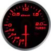 Defi BF Series 60mm Boost Gauge (in PSI), Amber