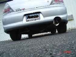 JIC Titanium Exhaust 12 Pound System for Evo 7-9