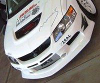 APR Evo front bumper with APR lower lip built in for the Evo 8 and 9