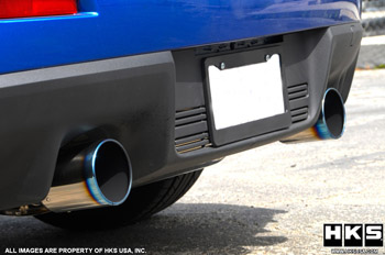HKS Axle Back Exhaust for 08+ Lancer Evolution X