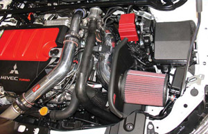 Injen 08+ EVO X Intake kit with Upper IC pipe