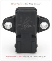 Omni Power 4 and 7 Bar Plug-and-Play Map sensor for the evo 8 and 9.