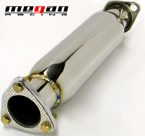 Megan Racing Stainless Steel Resonatored Test pipe for the Evo 8/9